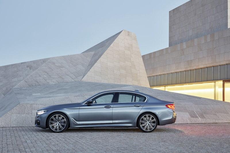 New BMW 5 Series saloon 03