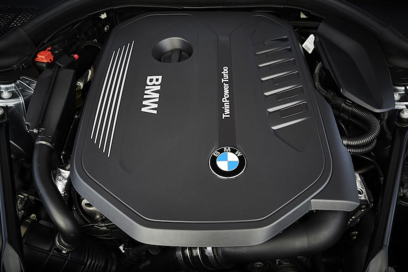 New BMW 5 Series engine