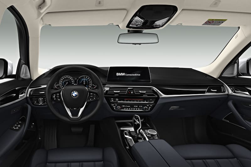 New BMW 5 Series saloon 08