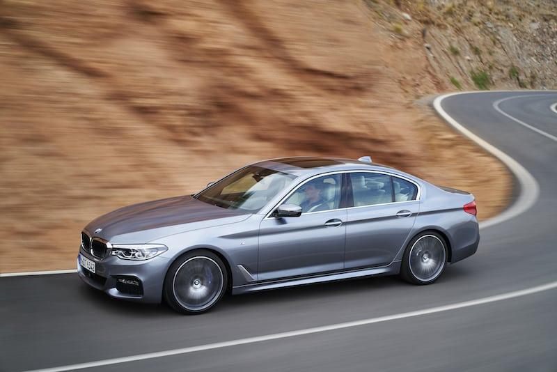 New BMW 5 Series saloon 04