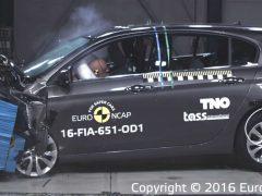 Fiat Tipo Euro NCAP crash test