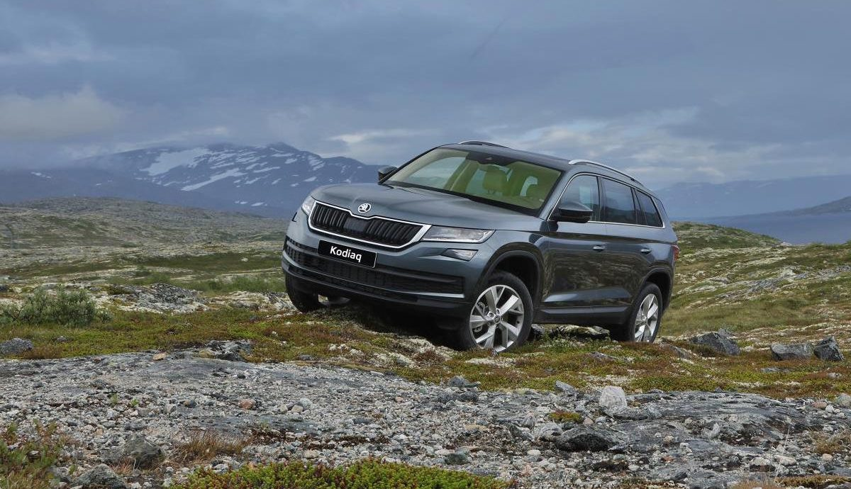 Skoda Kodiaq priced to compete at £21.5K