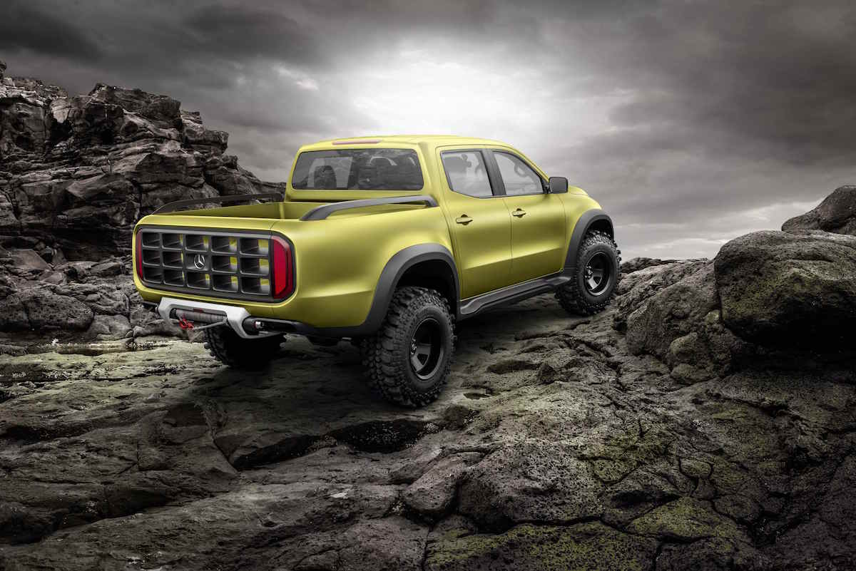 Mercedes-Benz X-Class 'Powerful Adventurer' concept 01