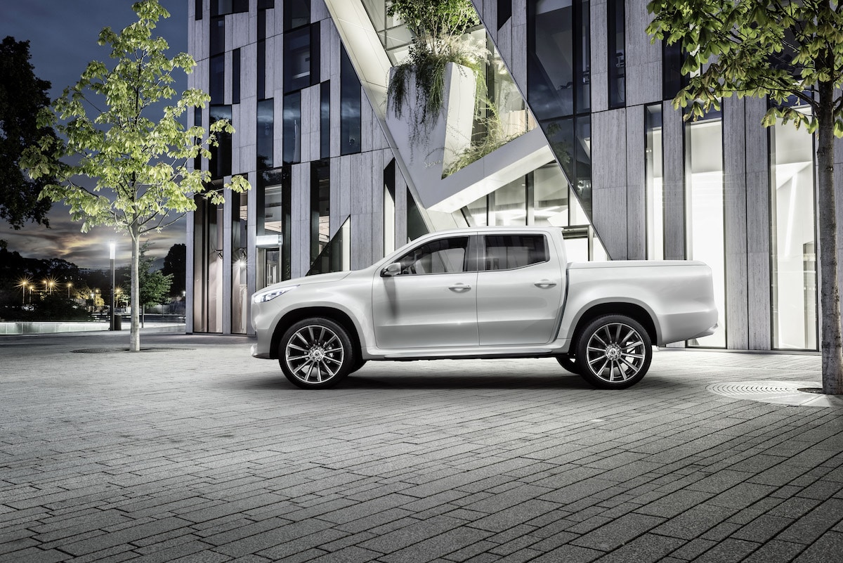 Mercedes-Benz X-Class 'Stylish Explorer' concept 06