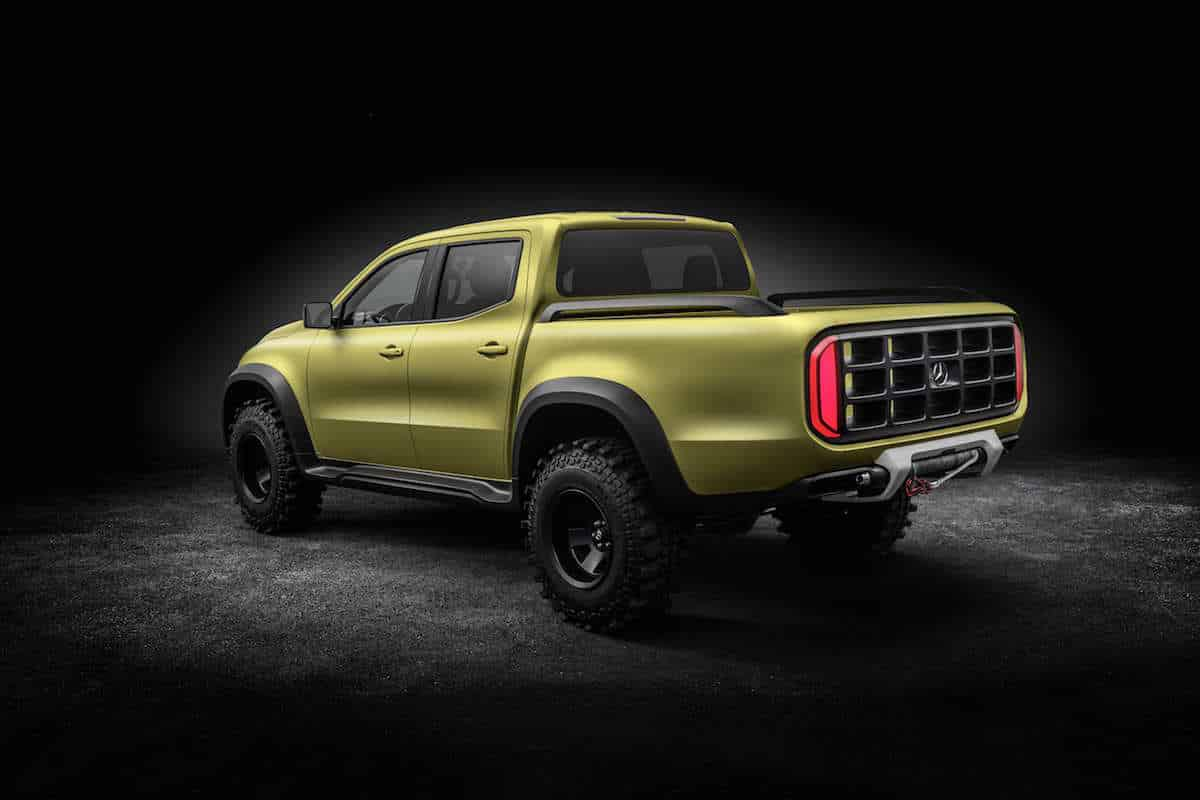 Mercedes-Benz X-Class 'Powerful Adventurer' concept 05