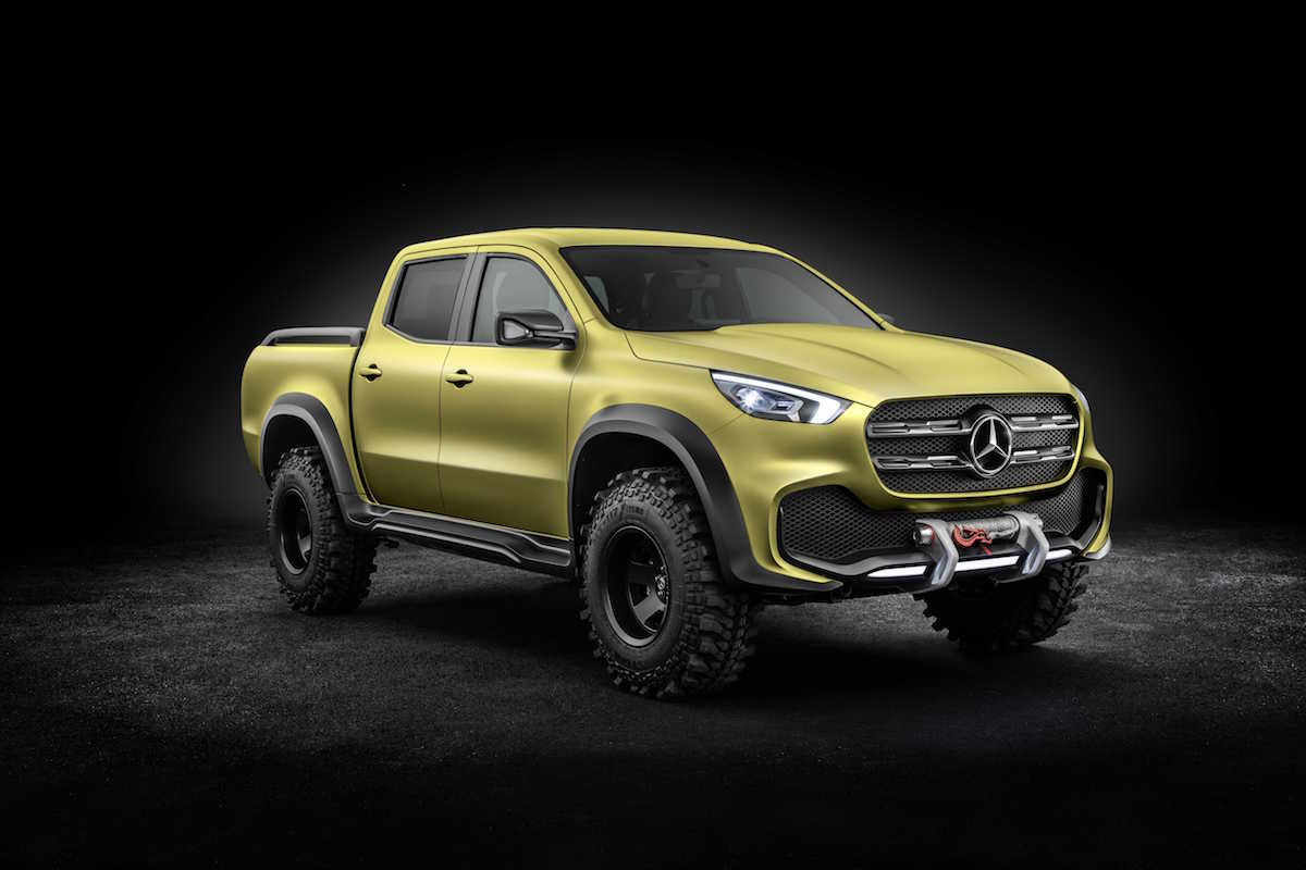 Mercedes-Benz X-Class 'Powerful Adventurer' concept 06