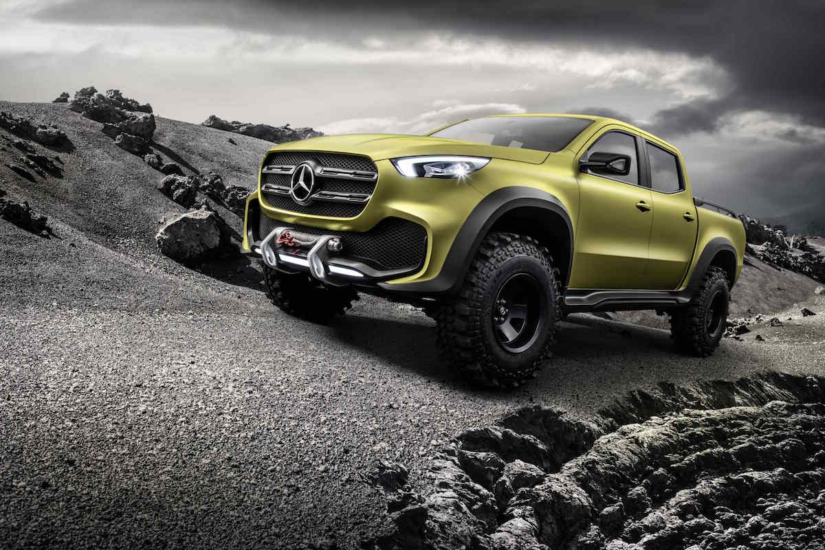 Mercedes-Benz X-Class 'Powerful Adventurer' concept 07