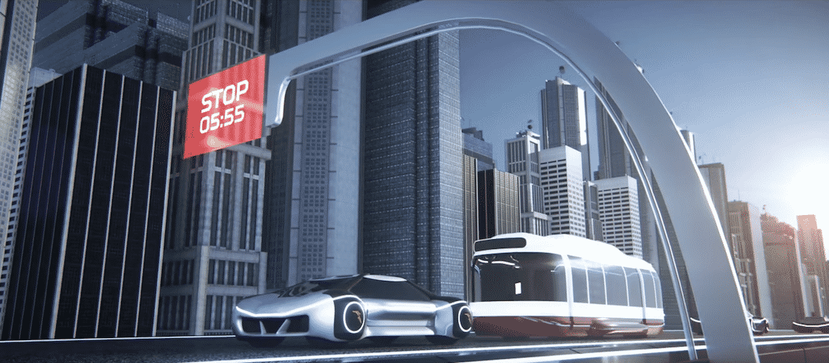 Autonomous cars, connected to each other and the local infrastructure