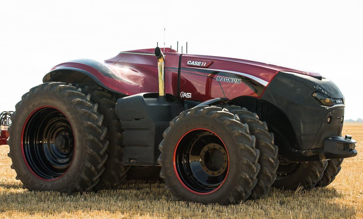 New Holland NH Drive autonomous tractor