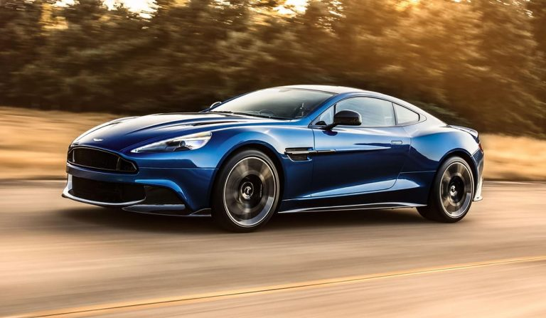 Aston Martin reveals 600hp Vanquish S