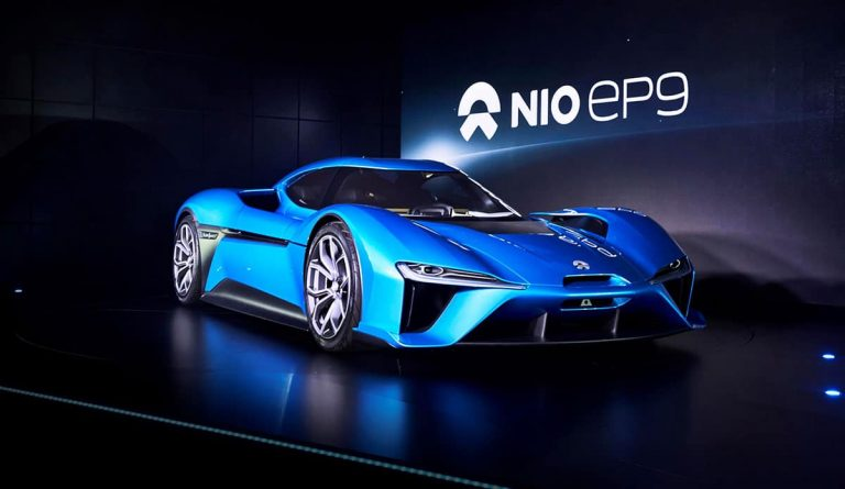 Nio brand launches with 'fastest electric car'