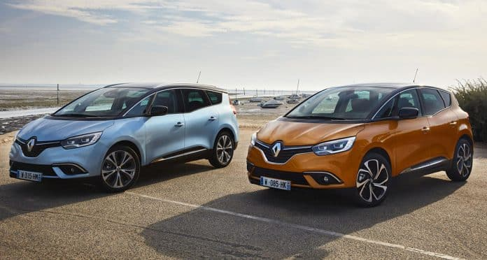 Renault Scenic and Grand Scenic