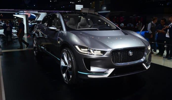 Jaguar I-Pace at the 2016 Los Angeles Auto Show