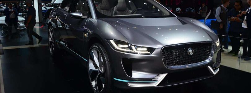 Jaguar I-Pace at the 2016 Los Angeles Auto Show