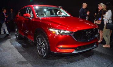 Mazda CX-5 at the LA Auto Show 2016