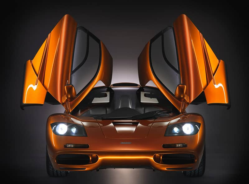 Where it all began - the iconic McLaren F1.