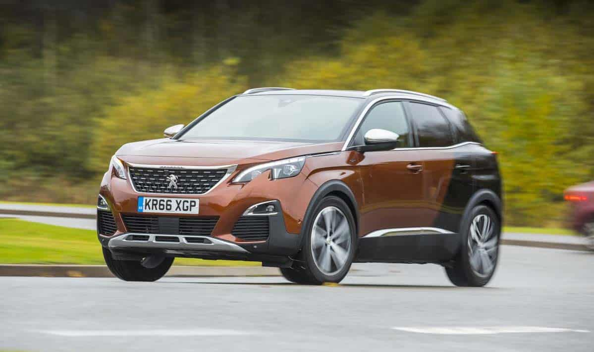 The Peugeot 3008 has been rated as one of the UK's safest cars for 2017