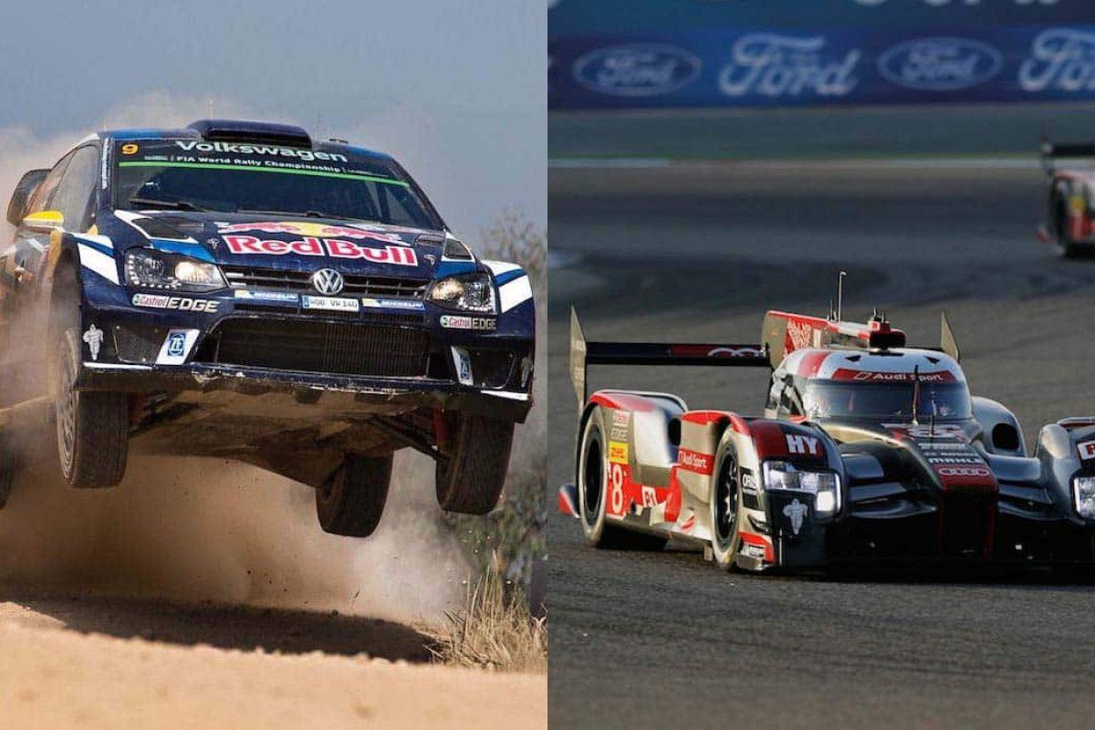 Volkswagen WRC and Audi WEC farewell