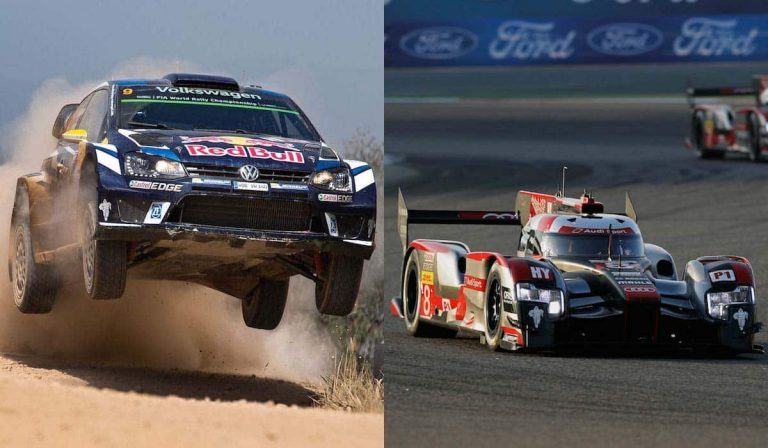 Stylish motorsport finales for Volkswagen and Audi