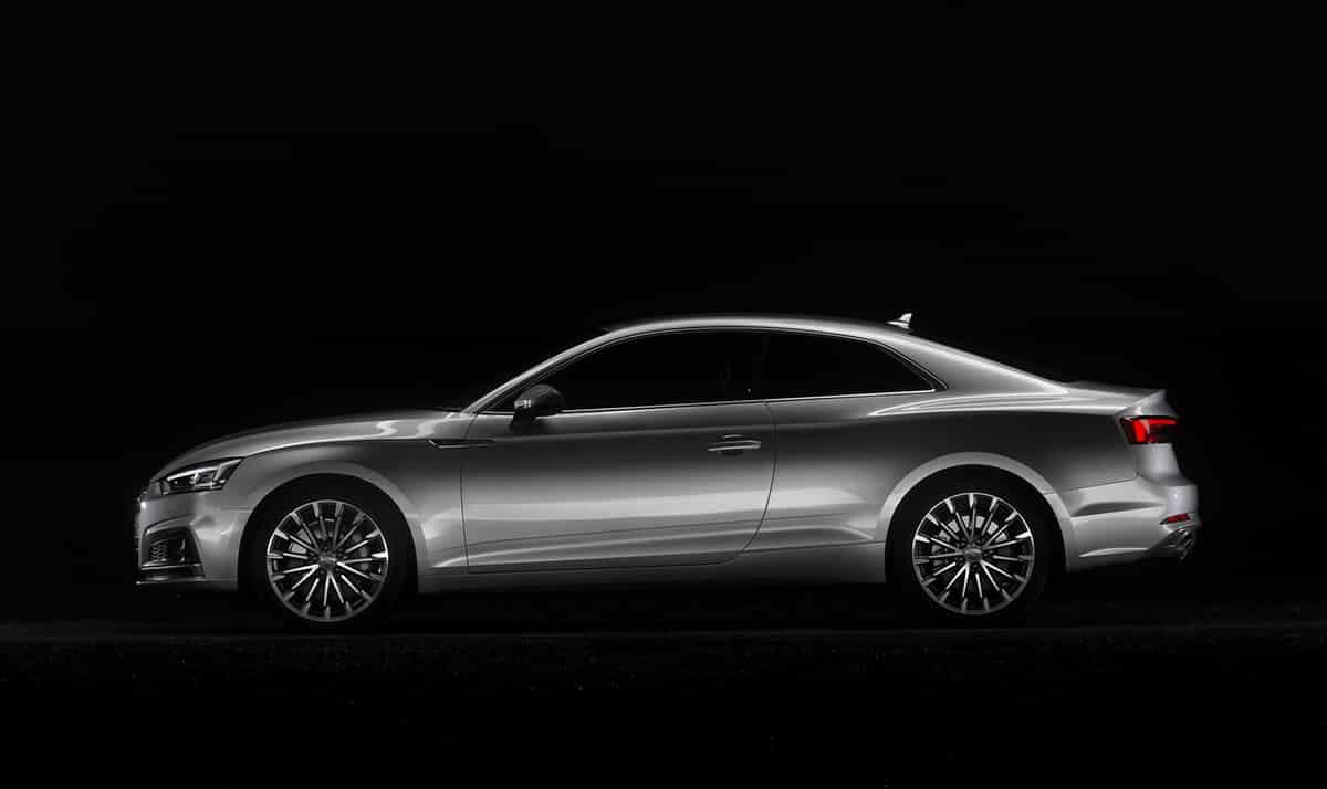 Audi A5 side