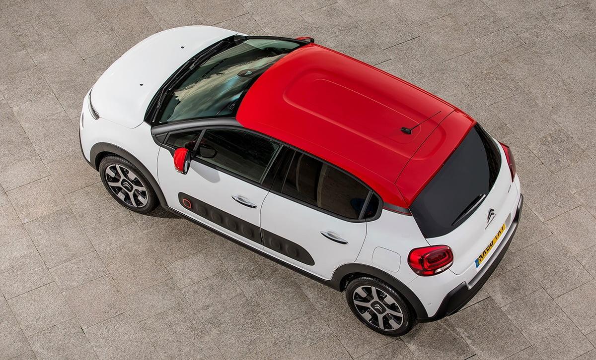Citroën-C3-roof