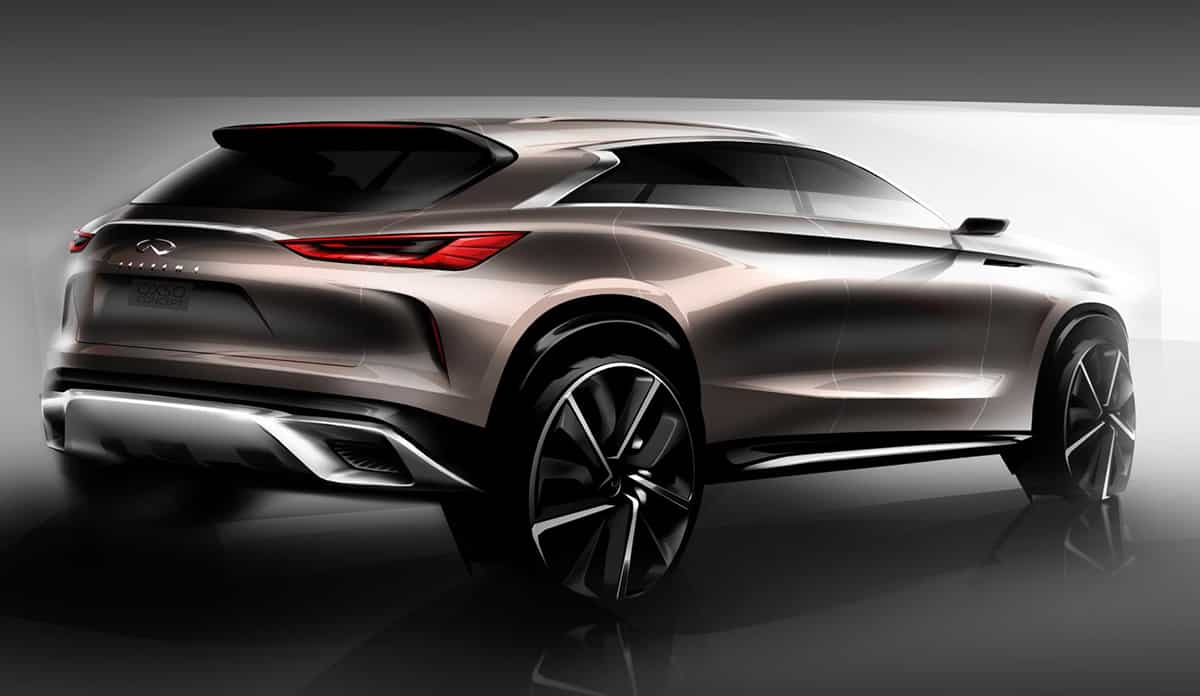 Infiniti QX50 Concept rear