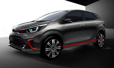 First images of new Kia Picanto revealed