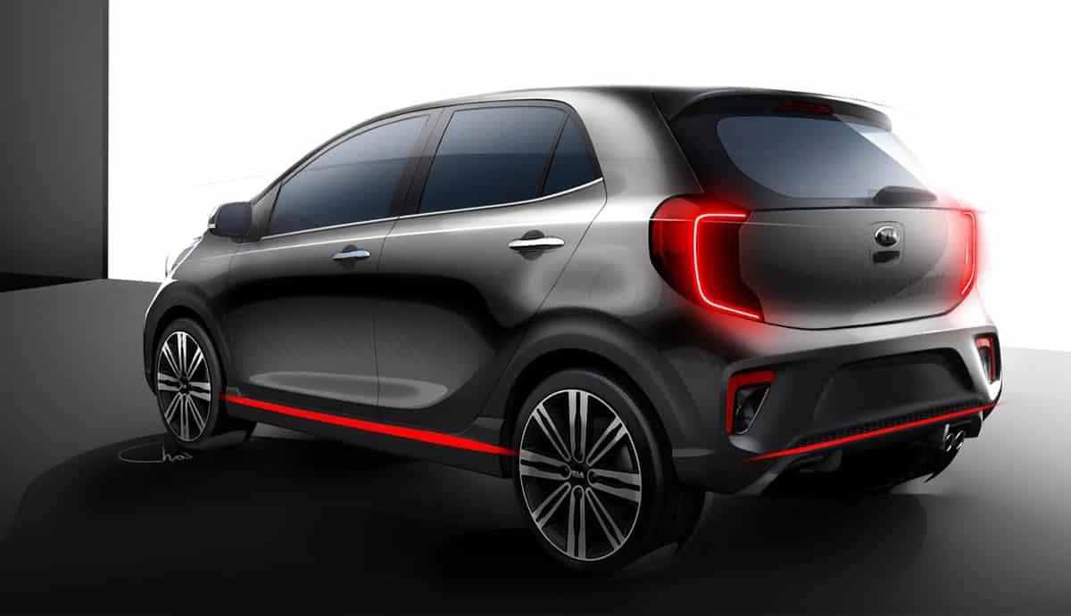 Kia Picanto-2017-rear