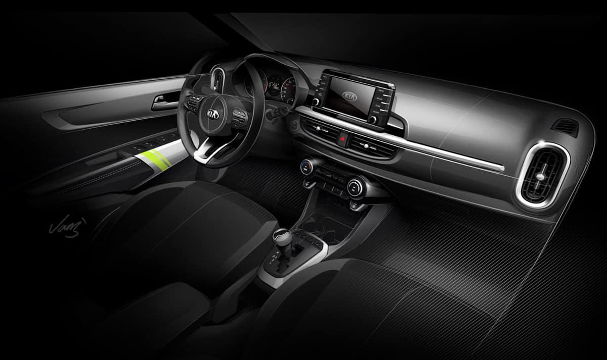 Kia Picanto-2017-interior