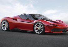 Ferrari J50 limited edition model (The Car Expert)