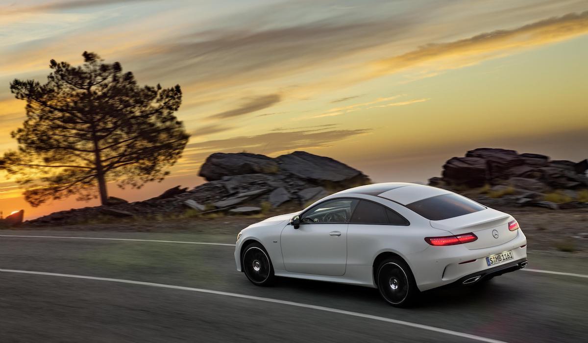 New Mercedes-Benz E-Class coupe 09