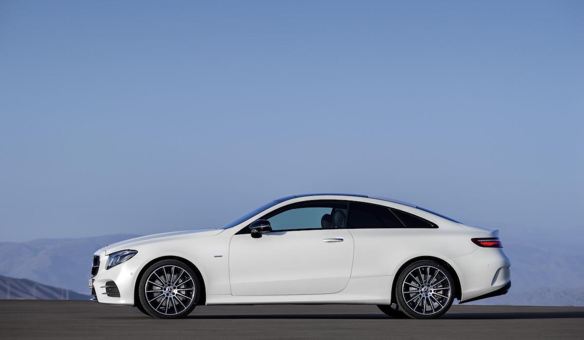 New Mercedes-Benz E-Class coupe 12