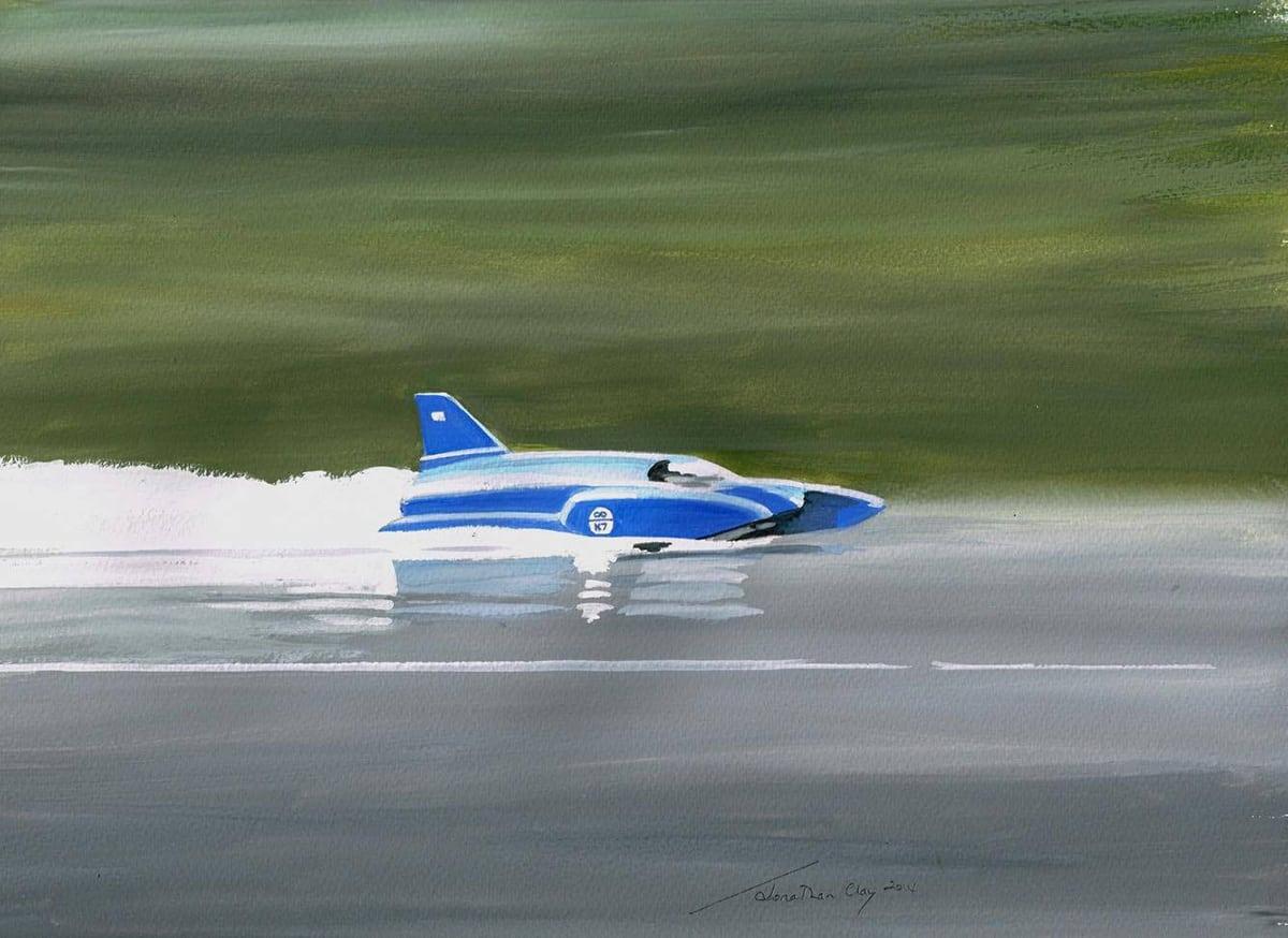 50 years on from Bluebird's last run 3