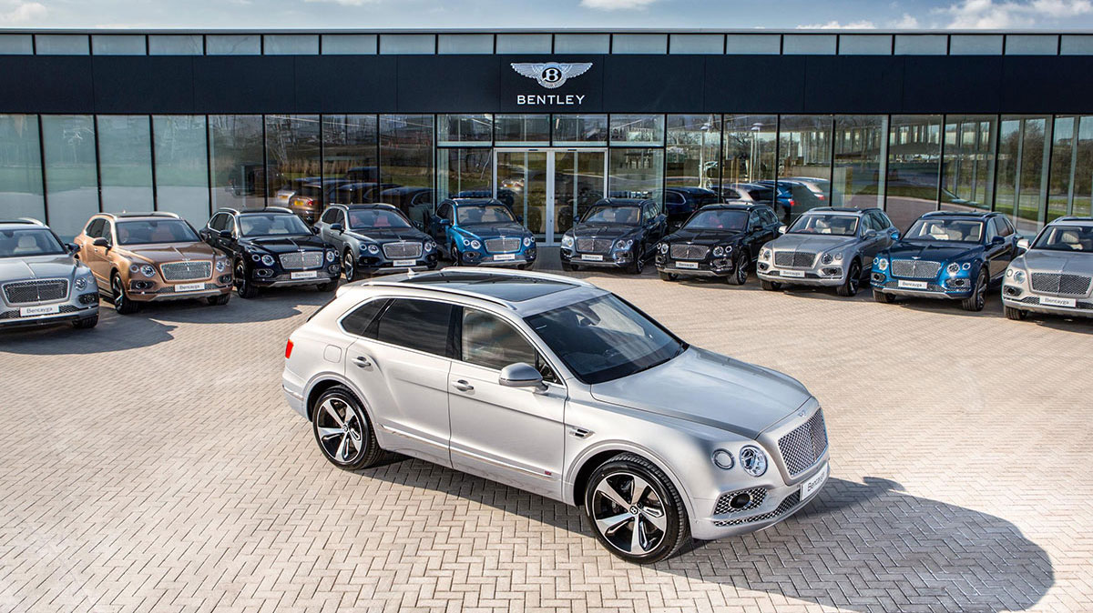 Bentley Plans To Plug In Entire Range
