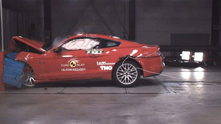 Safety experts slam Ford Mustang over poor crash results