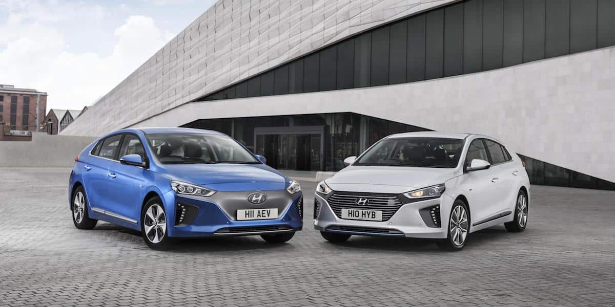 The Hyundai Ioniq has been rated as one of the UK's safest cars for 2017