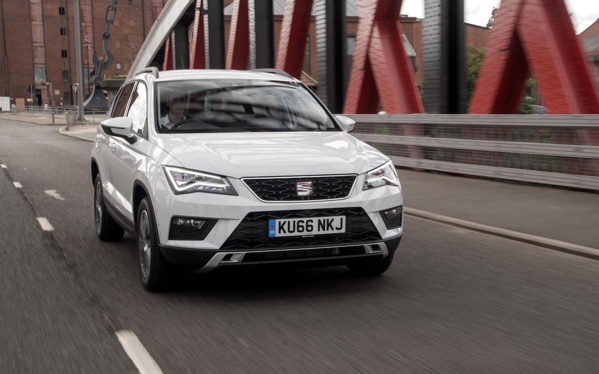 SEAT Ateca (2016 - 2021) - front view