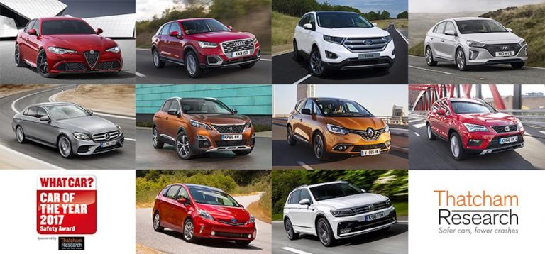 The ten safest new cars of 2017 revealed