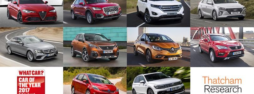Thatcham Research ten safest new cars of 2017