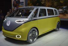 Volkswagen ID Buzz electric MPV concept, Detroit 2017