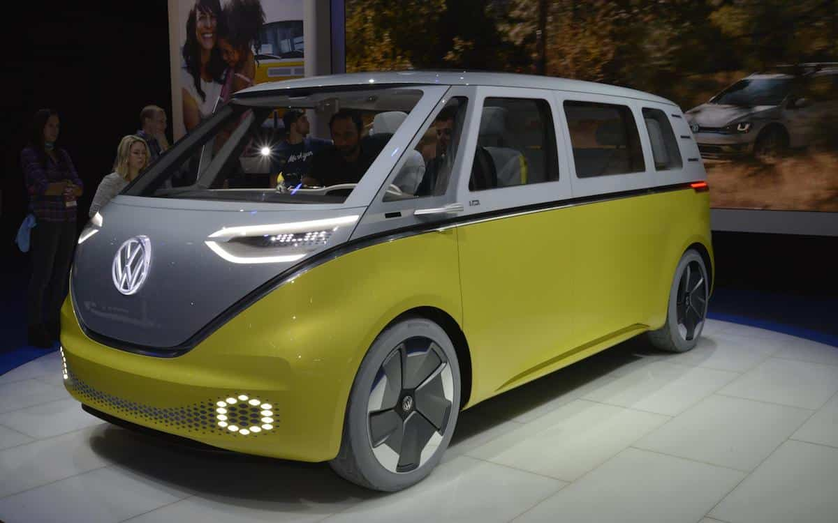 Detroit show: Volkswagen Camper goes electric | News | The Car Expert