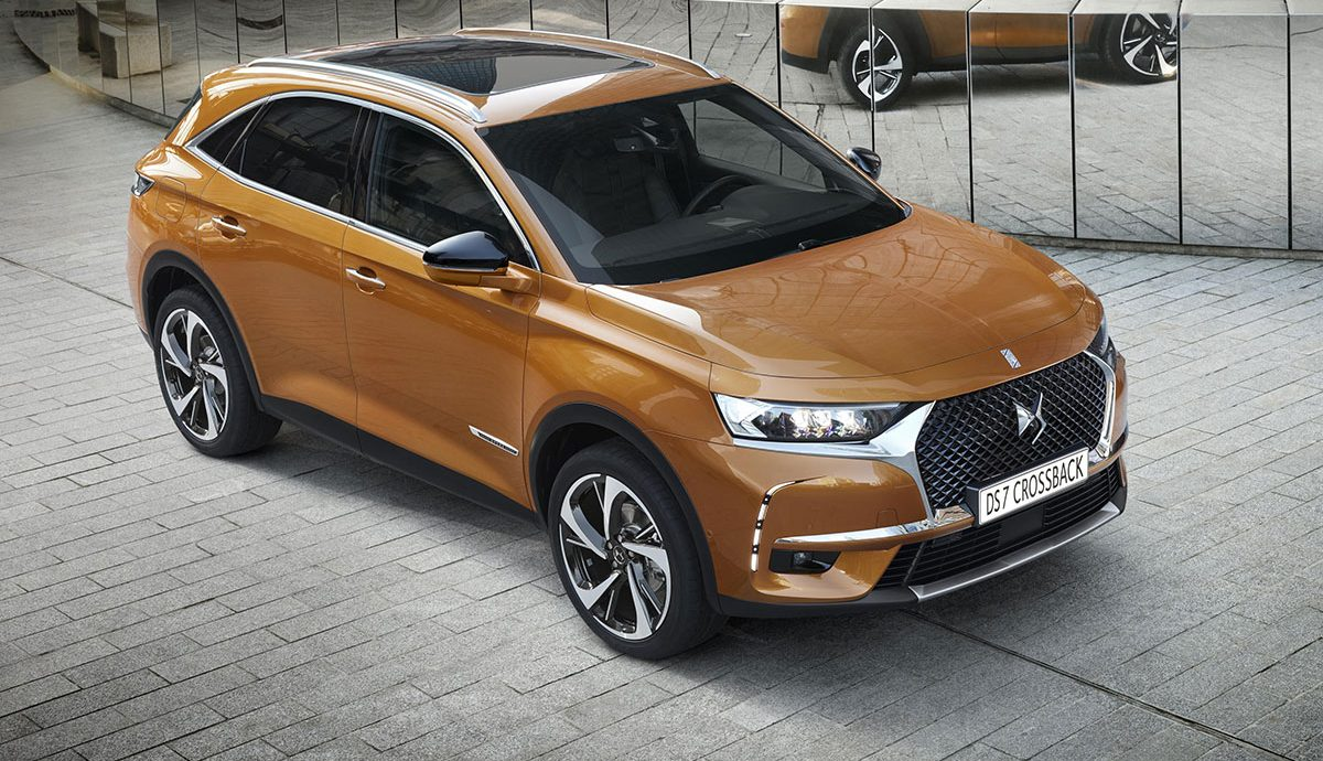 DS 7 Crossback front 34