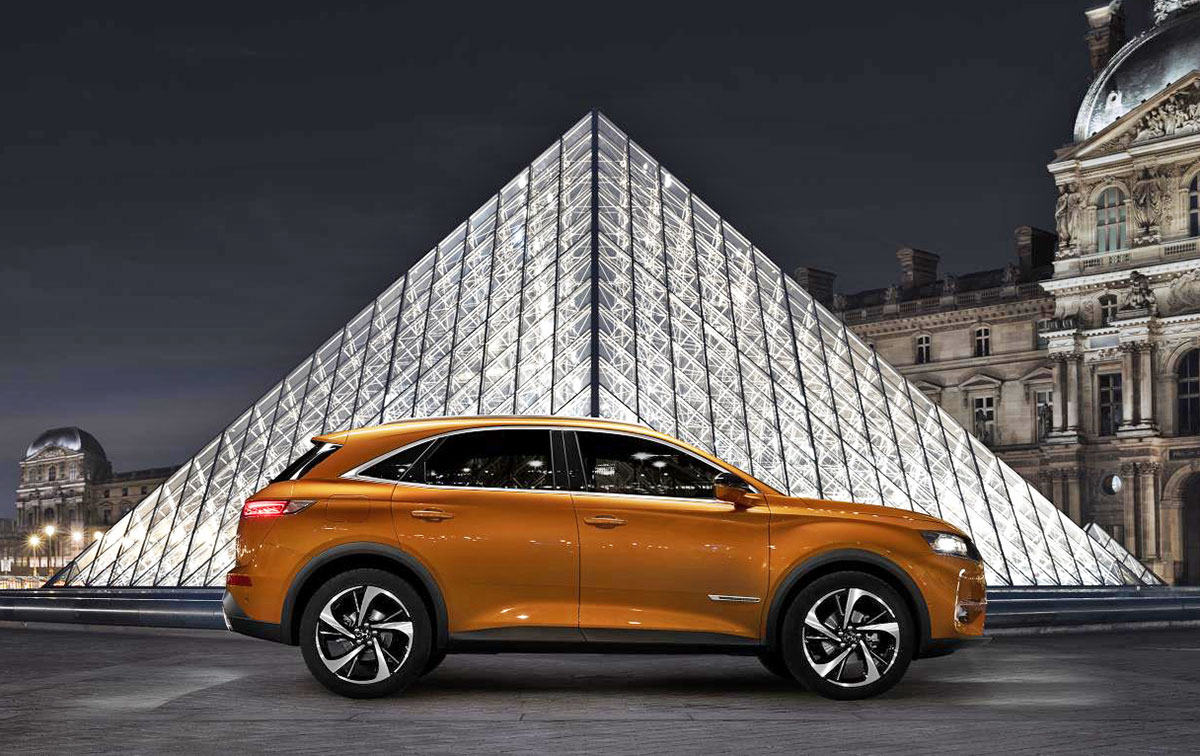 DS 7 Crossback side