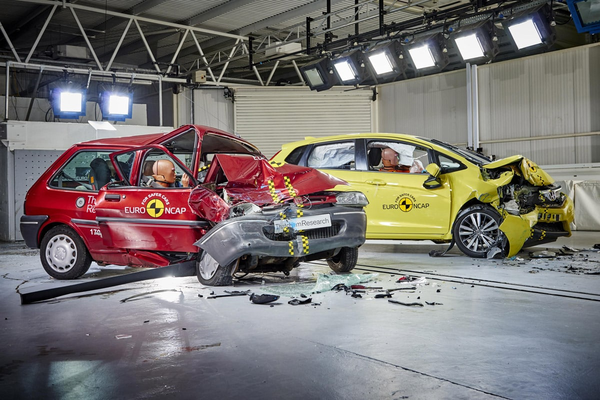 Euro Ncap Marks 20 Years Of Saving Lives Car Safety The Car Expert