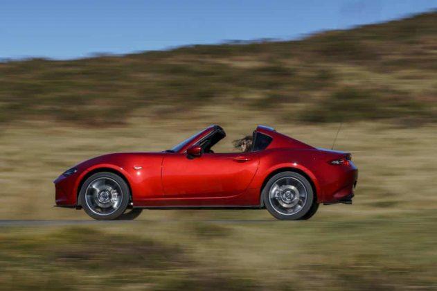 Mazda MX-5 RF on road 01