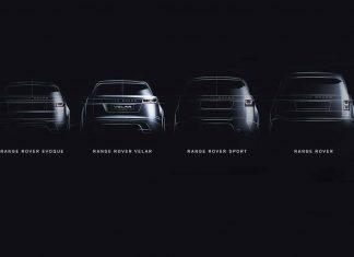 Range Rover Velar family