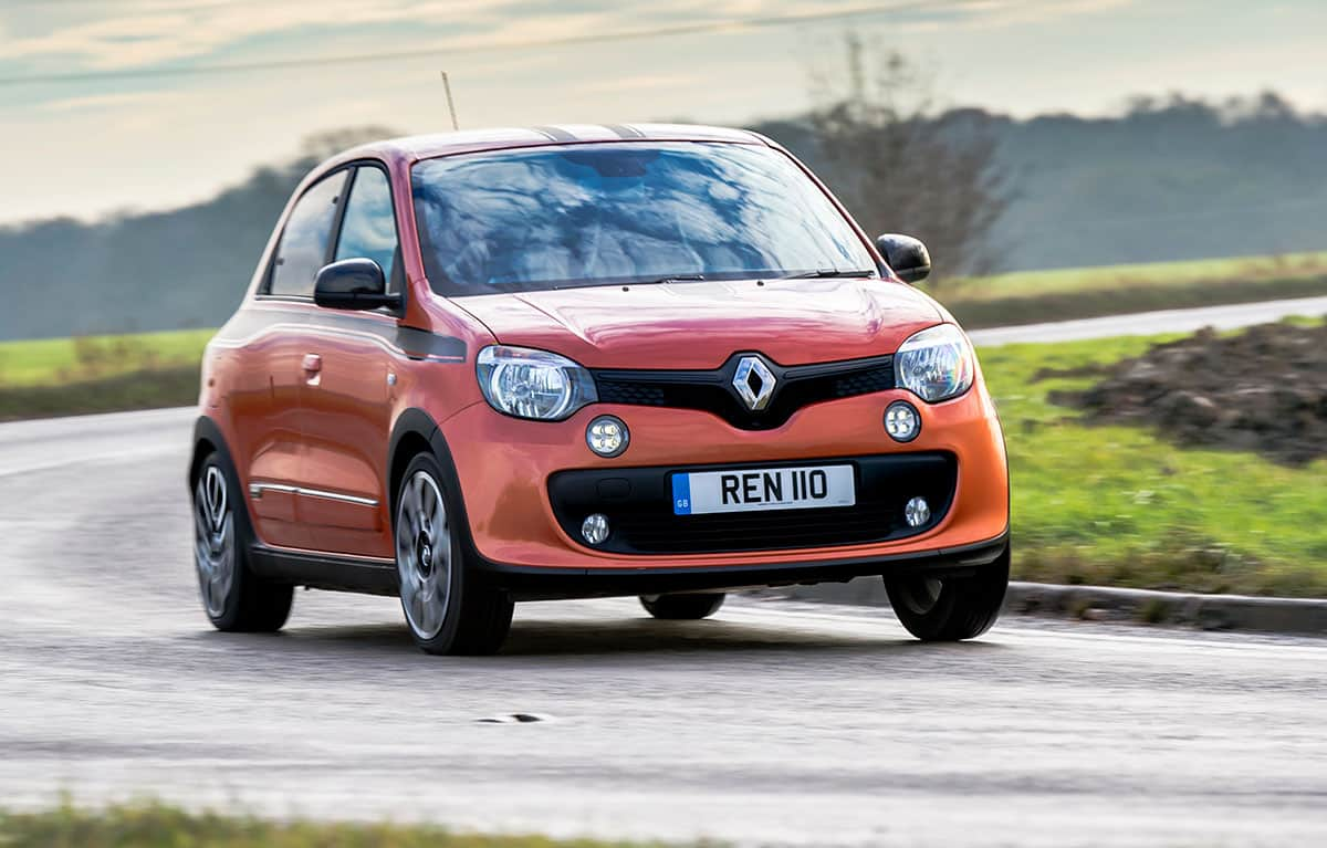 Renault Twingo GT on road