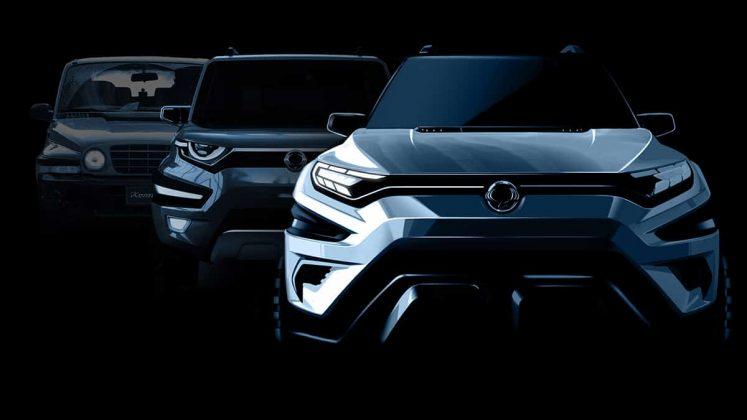 Seven-seat SsangYong XAVL set for Geneva 2