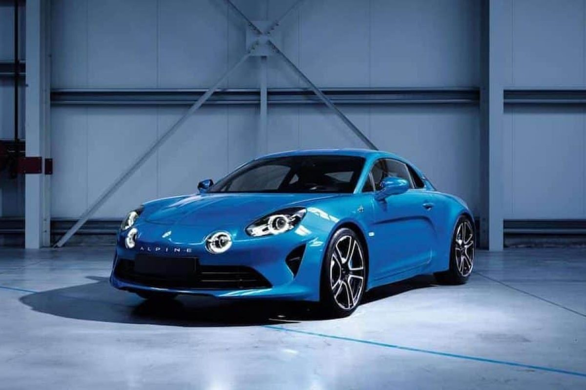 Alpine has released the first images of its new two-seater sports car the Alpine A110.
