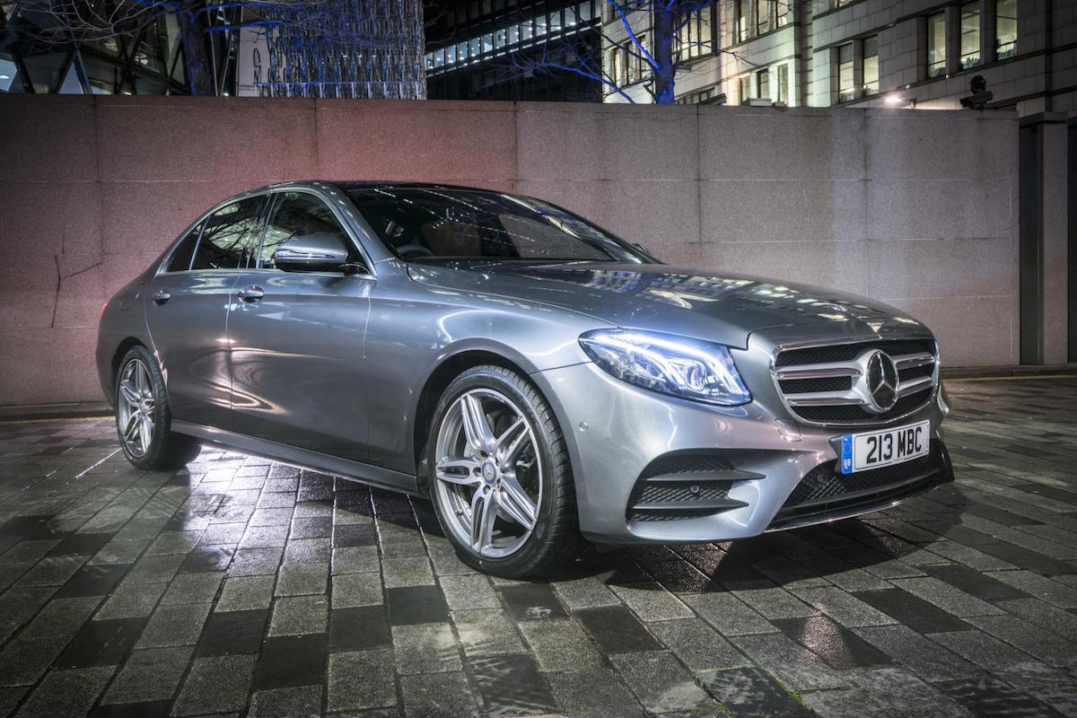 Mercedes-Benz E-Class Saloon wins UK Car of the Year 2017